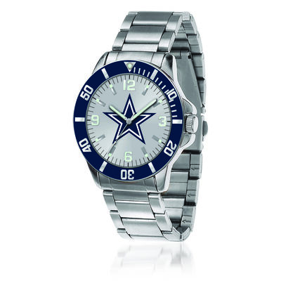 Men's 46mm NFL Dallas Cowboys Stainless Steel Key Watch, , default