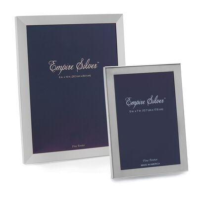 Empire Pewter Picture Frame, , default