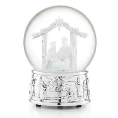 Reed & Barton Nativity 2020 Musical Snow Globe