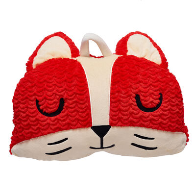 Child's Fox Plush Sleeping Bag