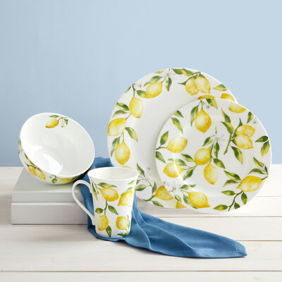 "Mikasa ""Lemon"" Dinnerware Set, , default"