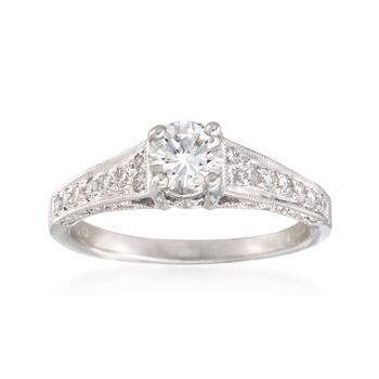 1.07 ct. t.w. Diamond Ring in 18kt White Gold, , default