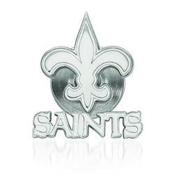 Sterling Silver NFL New Orleans Saints Lapel Pin, , default