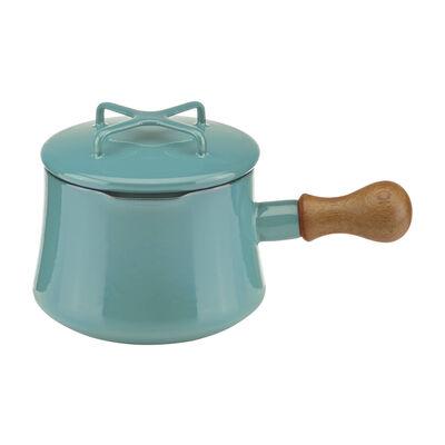 """Dansk """"Kobenstyle"""" Teal Hot Chocolate Pot with Lid, , default"""