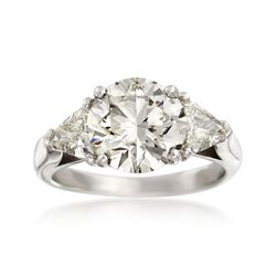 Majestic Collection 3.77 ct. t.w. Diamond Ring in Platinum, , default