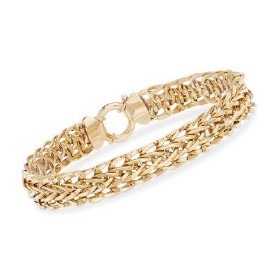 18kt Yellow Gold Multi-Link Bracelet, , default