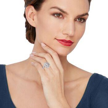 1.00 ct. t.w. Diamond Teardrop Ring in 14kt White Gold, , default