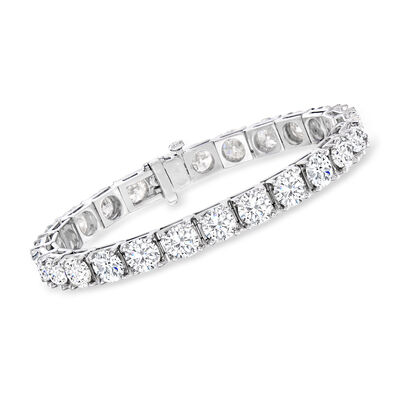 26.00 ct. t.w. Diamond Tennis Bracelet in 14kt White Gold