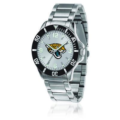 Men's 46mm NFL Jacksonville Jaguars Stainless Steel Key Watch, , default