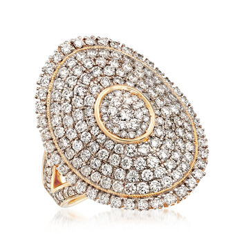 2.50 ct. t.w. Diamond Circle Ring in 14kt Yellow Gold
