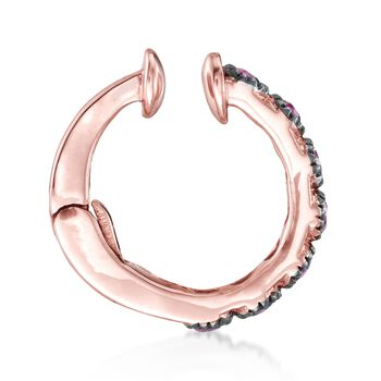 .20 ct. t.w. Ruby Single Ear Cuff in 14kt Rose Gold, , default