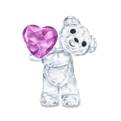 "b8df4aa3a6e Swarovski Crystal ""Take My Heart"" Kris Bear Figurine, , default"