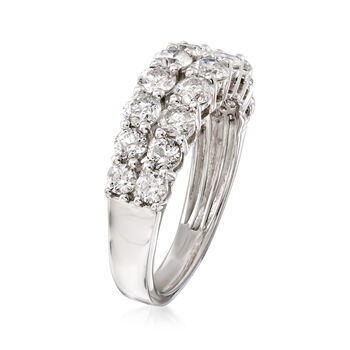 2.00 ct. t.w. Diamond Double-Row Ring in Platinum, , default