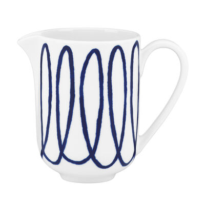 "Kate Spade New York ""Charlotte Street West"" Blue Creamer"