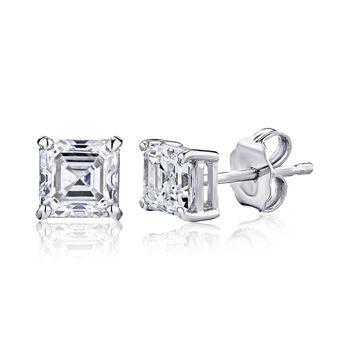 1.40 ct. t.w. Diamond Stud Earrings in 14kt White Gold, , default