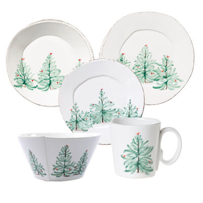 "Vietri ""Lastra"" Holiday Dinnerware from Italy, , default"