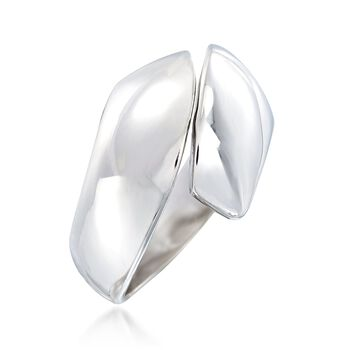 Sterling Silver Split Top Ring, , default