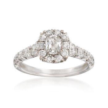 Henri Dausi 1.45 ct. t.w. Diamond Ring in 18kt White Gold, , default