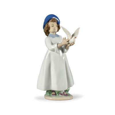"""Nao """"I Help You to Fly"""" Porcelain Figurine, , default"""