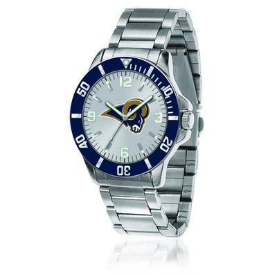 Men's 46mm NFL La Rams Stainless Steel Key Watch