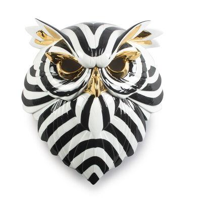 """Lladro """"Owl Mask"""" Porcelain Figurine, , default"""