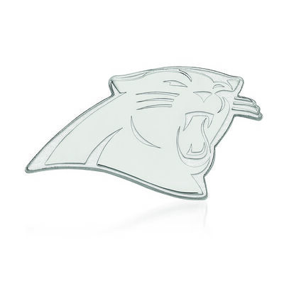 Sterling Silver NFL Carolina Panthers Lapel Pin, , default