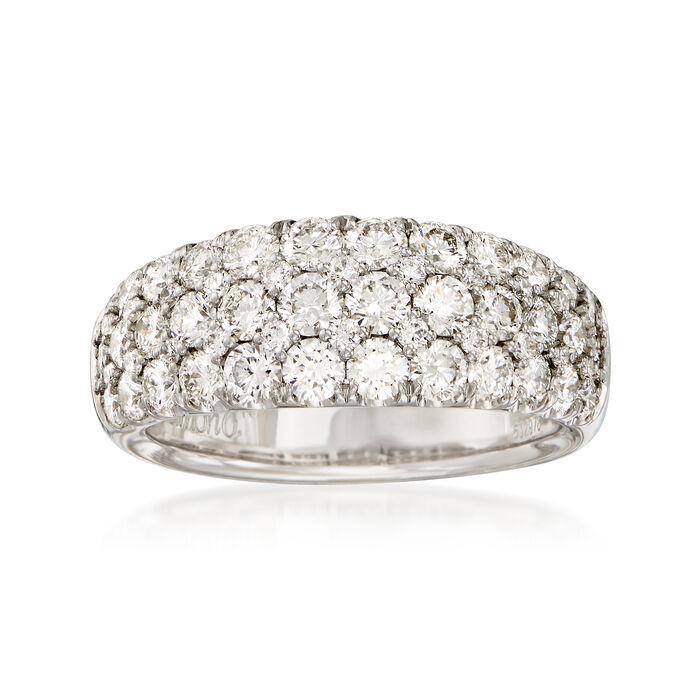 Simon G. 2.00 ct. t.w. Diamond Ring in 18kt White Gold. Size 7, , default