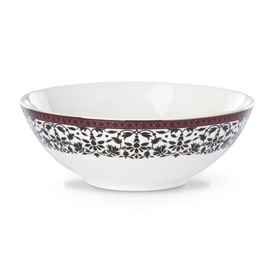 "Lenox ""Global Tapestry"" Garnet Lotus Serving Bowl, , default"