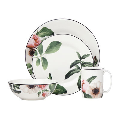 "Kate Spade New York ""Bloom Street"" Ceramic 4-pc. Place Setting, , default"