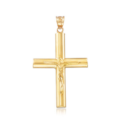 Cross Pendant in 22kt Yellow Gold, , default