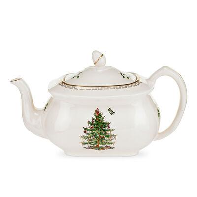 "Spode ""Christmas Tree Gold"" Teapot"