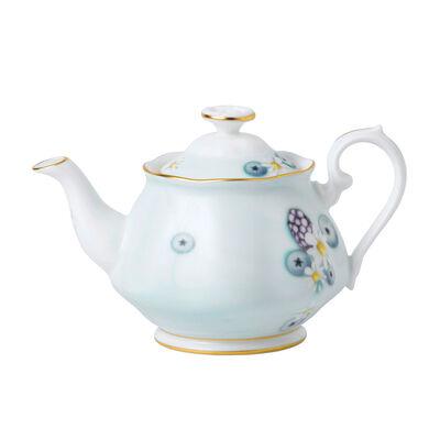 "Royal Albert ""Alpha Foodie"" Mini Teapot in Turquoise, , default"