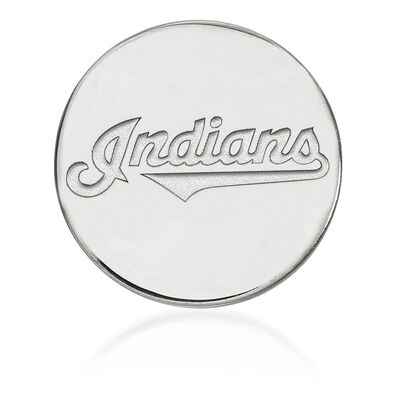 Sterling Silver MLB Cleveland Indians Lapel Pin, , default