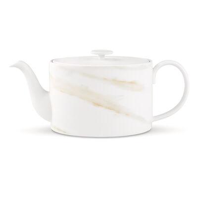 "Vera Wang for Wedgwood ""Vera Venato Imperial"" Teapot"