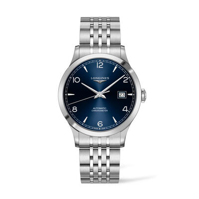 Longines Record Men's 40mm Automatic Stainless Steel Watch