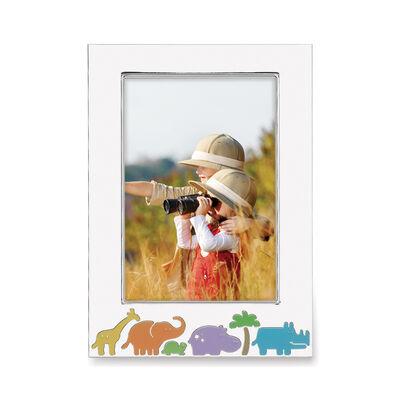 "Reed & Barton ""Jungle Parade"" Silver Plate Frame, , default"