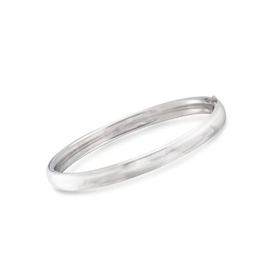 Child's Sterling Silver Bangle Bracelet, , default