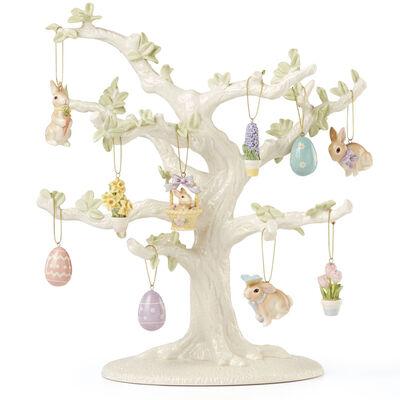 Lenox Porcelain Easter Tree and 10-pc. Mini Ornament Set, , default