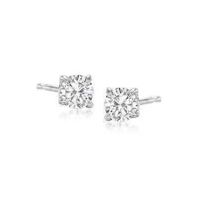 .33 ct. t.w. Diamond Stud Earrings in Platinum