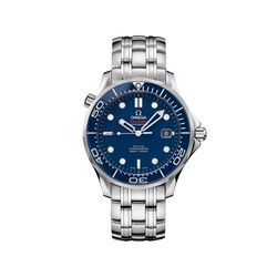 Omega Seamaster Diver Men's 41mm Stainless Steel Watch With Blue Dial , , default