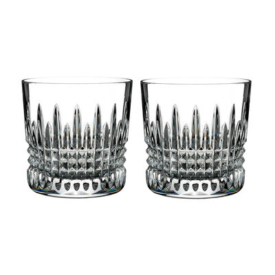 "Waterford Crystal ""Giftology"" Set of Two Lismore Diamond Tumblers, , default"