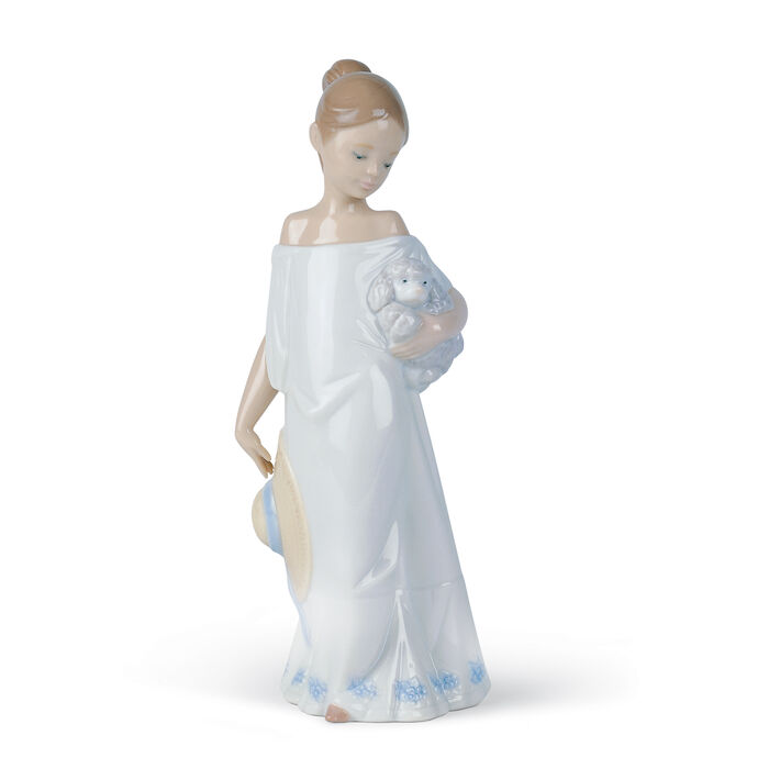 "Nao ""Together in the Countryside"" Porcelain Figurine, , default"