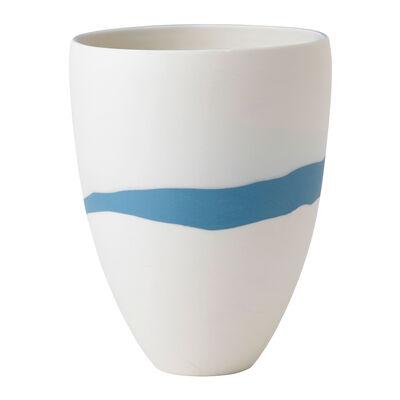 """Wedgwood """"Jasperware"""" Blue Pebble Vase, , default"""
