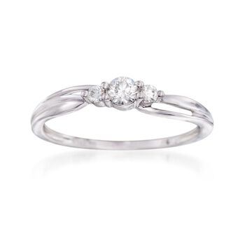 .20 ct. t.w. Diamond Ring in 14kt White Gold, , default