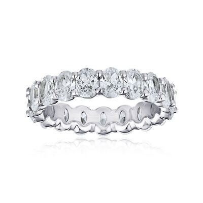 3.40 ct. t.w. Diamond Eternity Wedding Band in Platinum