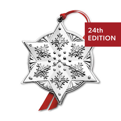 Towle 2020 Sterling Silver Star Ornament - 24th Edition