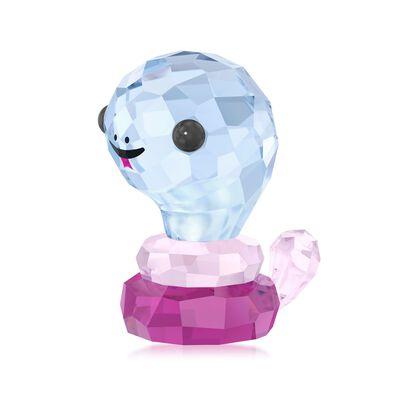 "Swarovski Crystal ""Protective Snake - Chinese Zodiac"" Crystal Figurine"