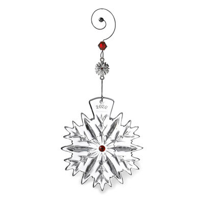 "Waterford 2020 ""Snowflake Wishes"" Ornament"