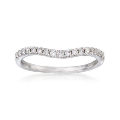 .20 ct. t.w. Diamond Wedding Ring in 14kt White Gold, , default