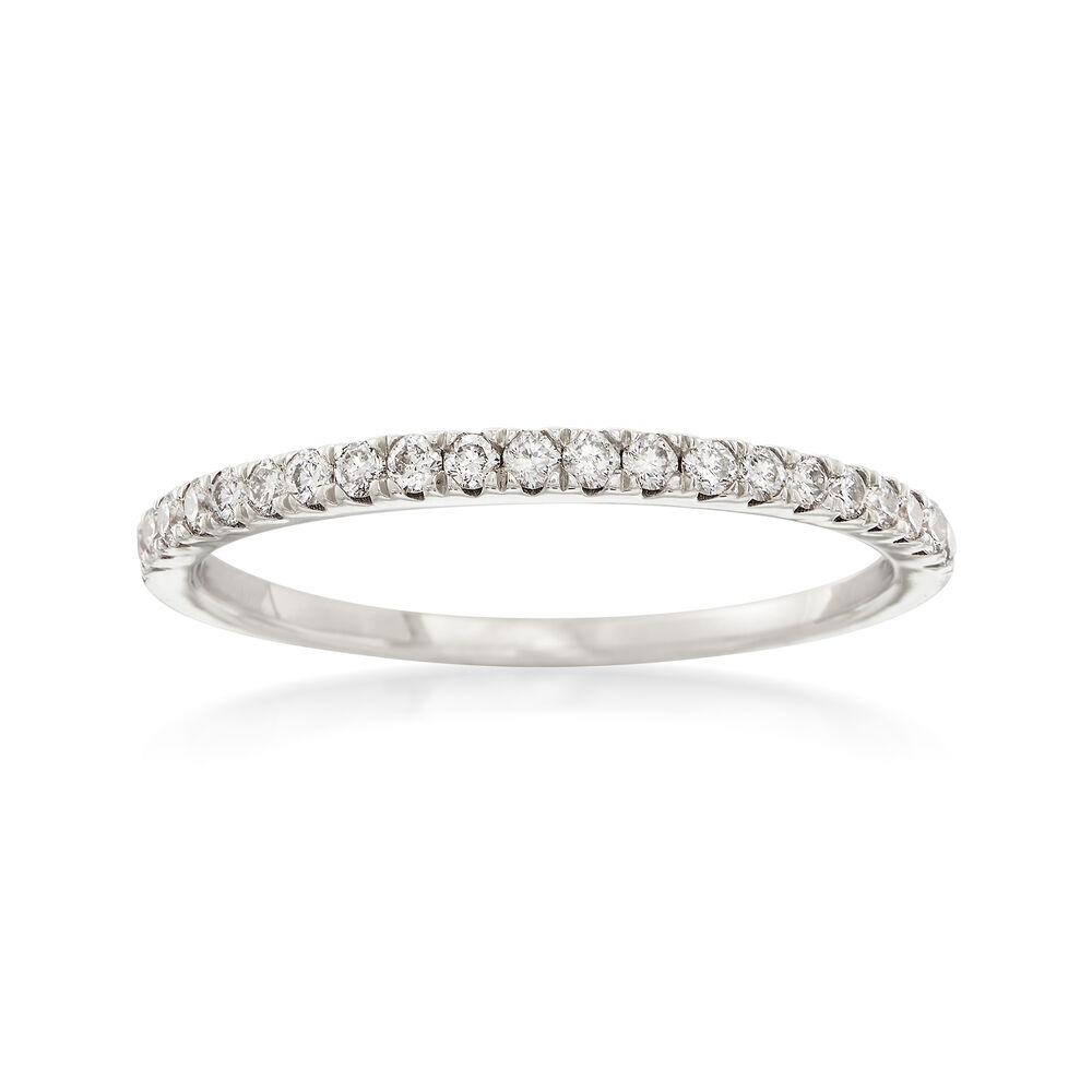 fc53681e029e6 .25 ct. t.w. Diamond Stackable Ring in 14kt White Gold